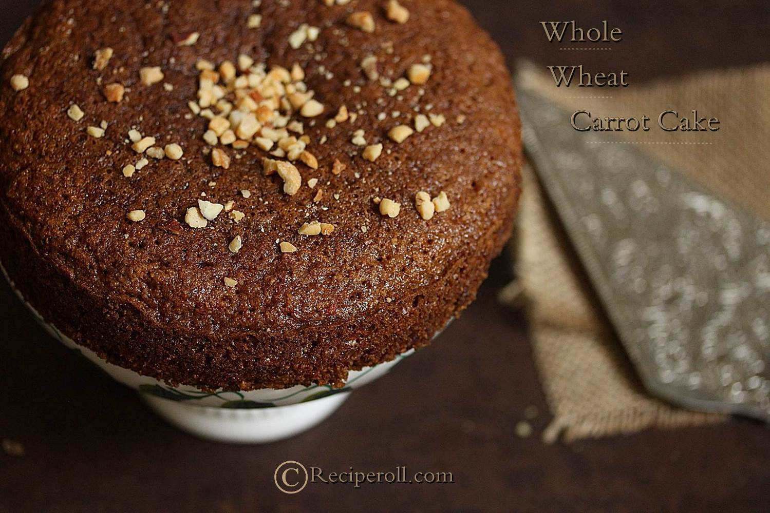 Whole Wheat Carrot Cake ~ Sankeerthanam (Reciperoll.com)|Recipes ...