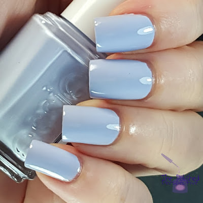 Essie Virgin Snow swatch