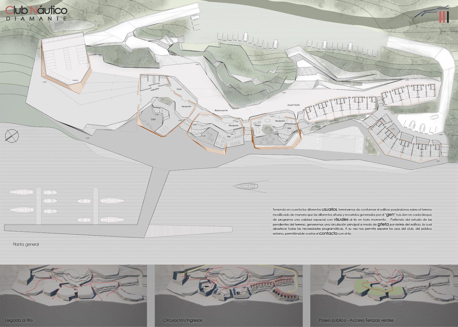 Taller miranda trabajos arquitectura 4 ciclo lectivo 2011 for Programa arquitectonico restaurante