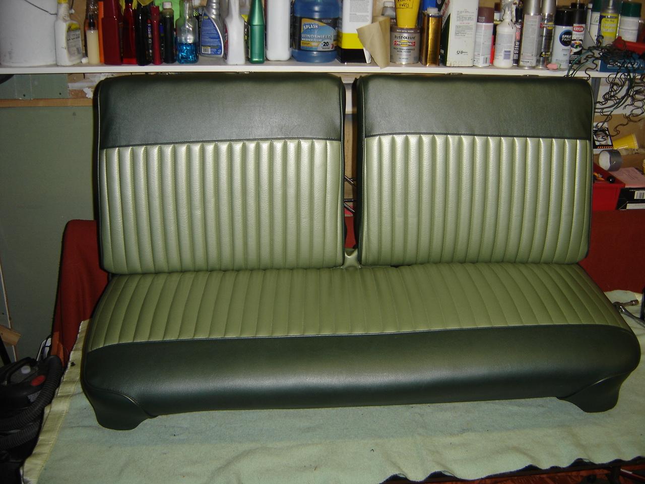 1970 Dodge Dart Bench Seat Restoration