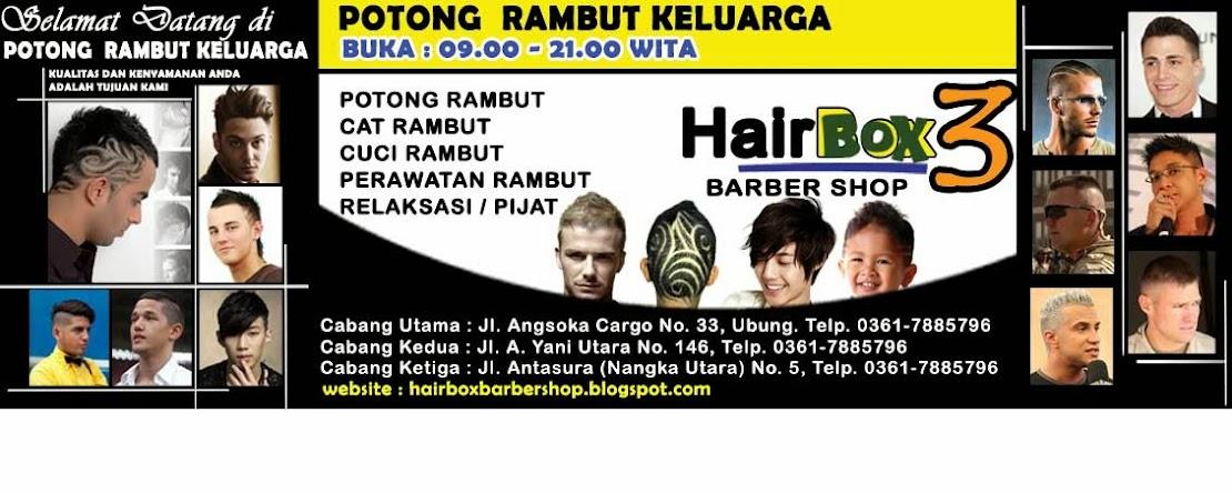 Pangkas Rambut Hairbox Barbershop