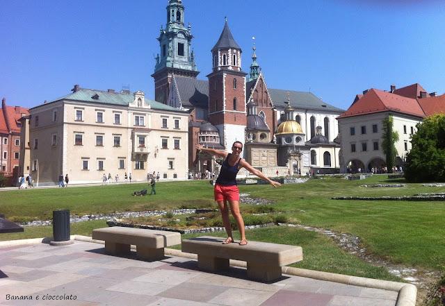 Cracovia piazza del castello