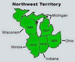Photo Credit -SD4History.com - The Original Northwest Territory