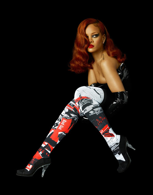 Singer, Actress @ Rihanna - Photoshoot for Stance Socks Summer 2105