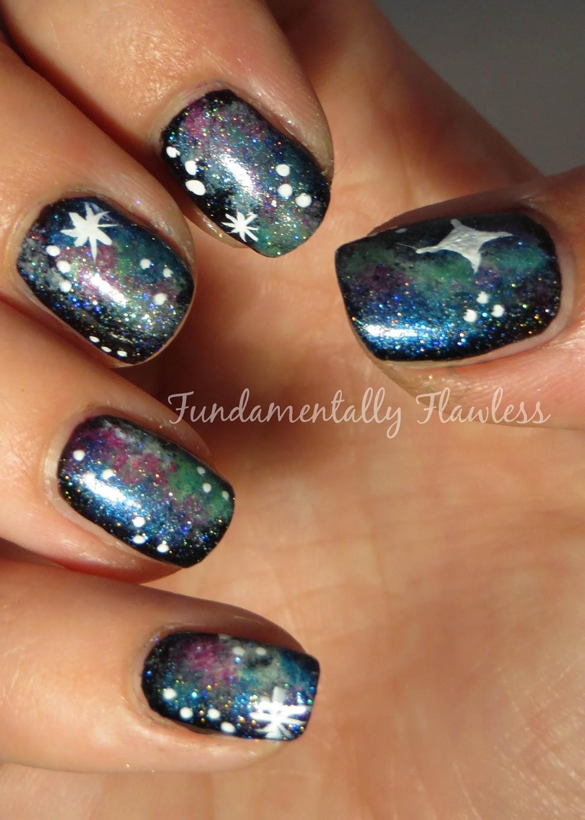 Fundamentally Flawless: More Galaxy Nails