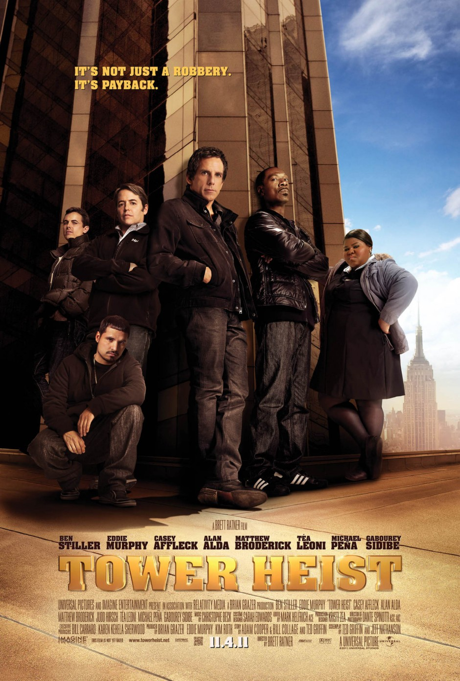 Tower Heist (2011) Poster