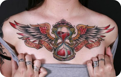 designs chest tattoo