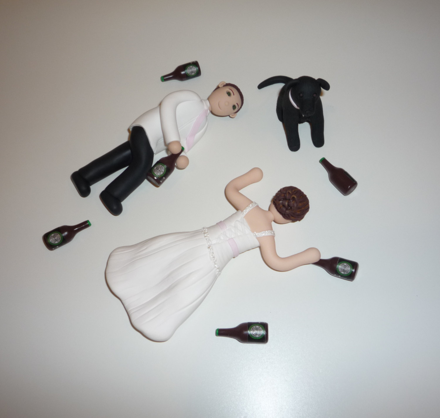 Funny & Cute Wedding Cake Toppers