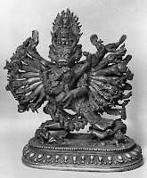 jacques marchias museum tibetan mongolian chinese buddhist artwork statues mandalas yama yamantaka protector death fear religion buddhism world religion