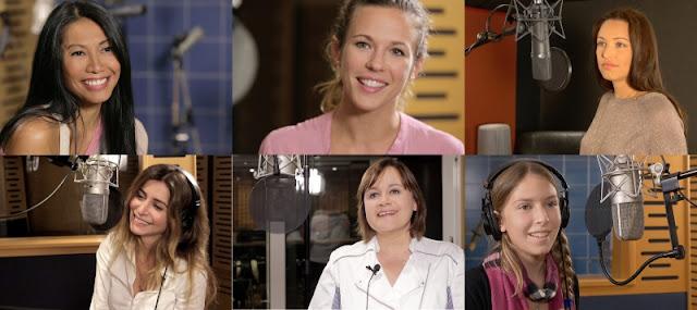 Anggun, Lorie Pester, Julie Zenatti, Natasha St-Pier, Lisa Angell et Sara Carreira - La Légende des Fées