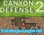 juego estrategia Canyon Defense 2