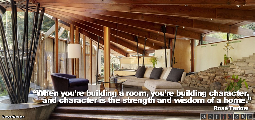 Artidsgn character of the home for House interior design quotes