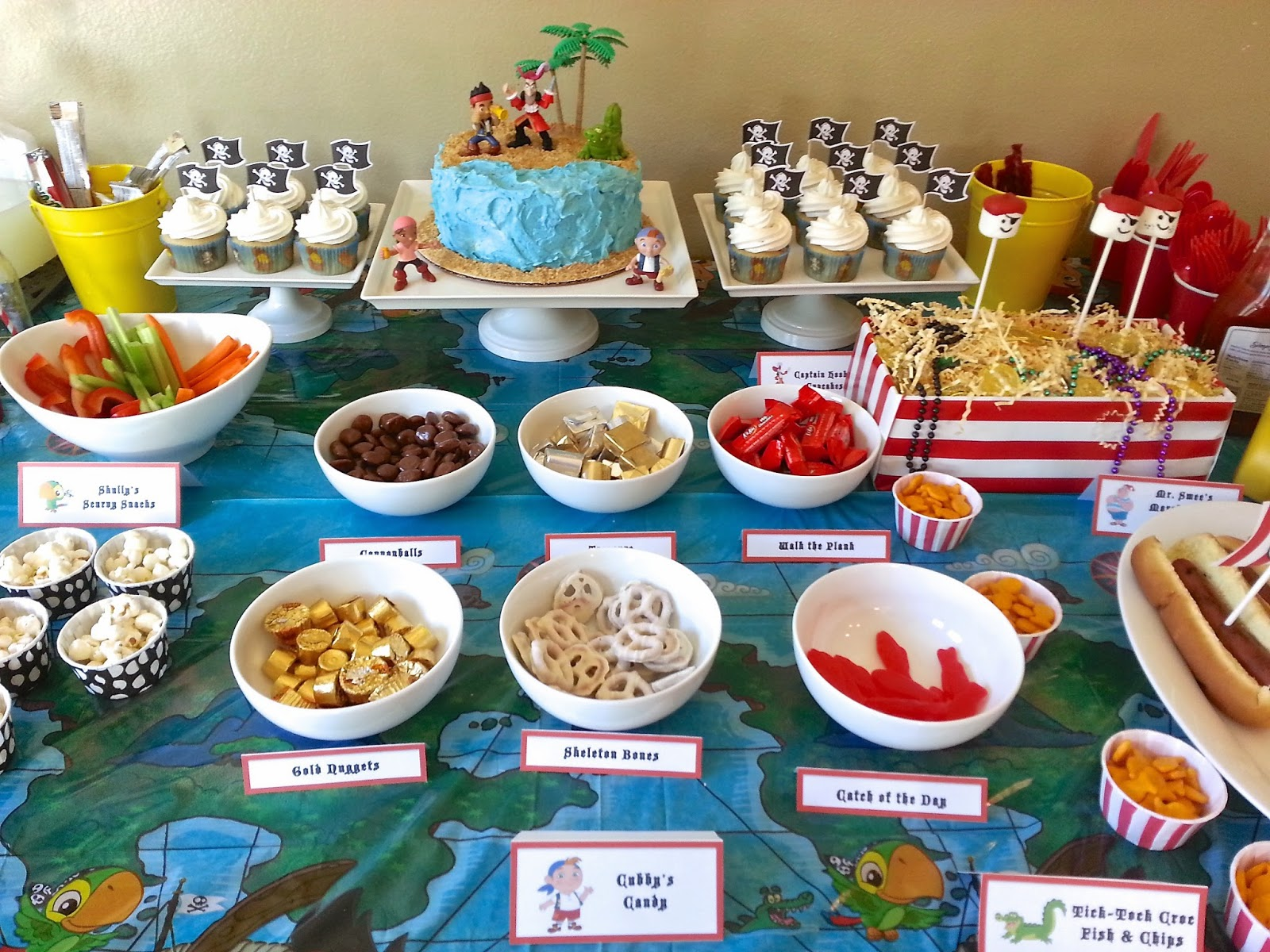 Much Kneaded Jake And The Neverland Pirates Birthday Party Part 1