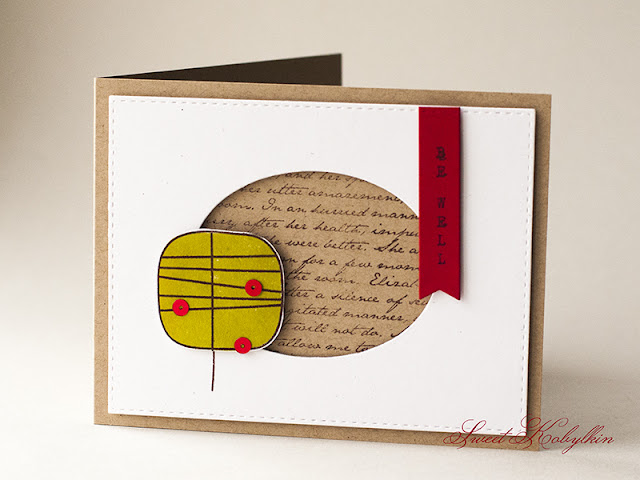 Greeting Card by Sweet Kobylkin with One with Nature from Simon Says Stamp