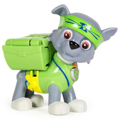 TOYS : JUGUETES - PAW PATROL : La Patrulla Canina Hero Pup - Pup-Fu Rocky : Karate | Figura - Muñeco 2015 | Serie Television Nickelodeon Spin Master - Bizak | A partir de 3 años Comprar en Amazon España & buy Amazon USA