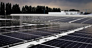 Solar Farm in Berlin with SolBond Mounting System by Solon