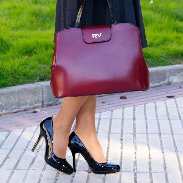 Zapatos Menbur y Bolso Roberto Verino