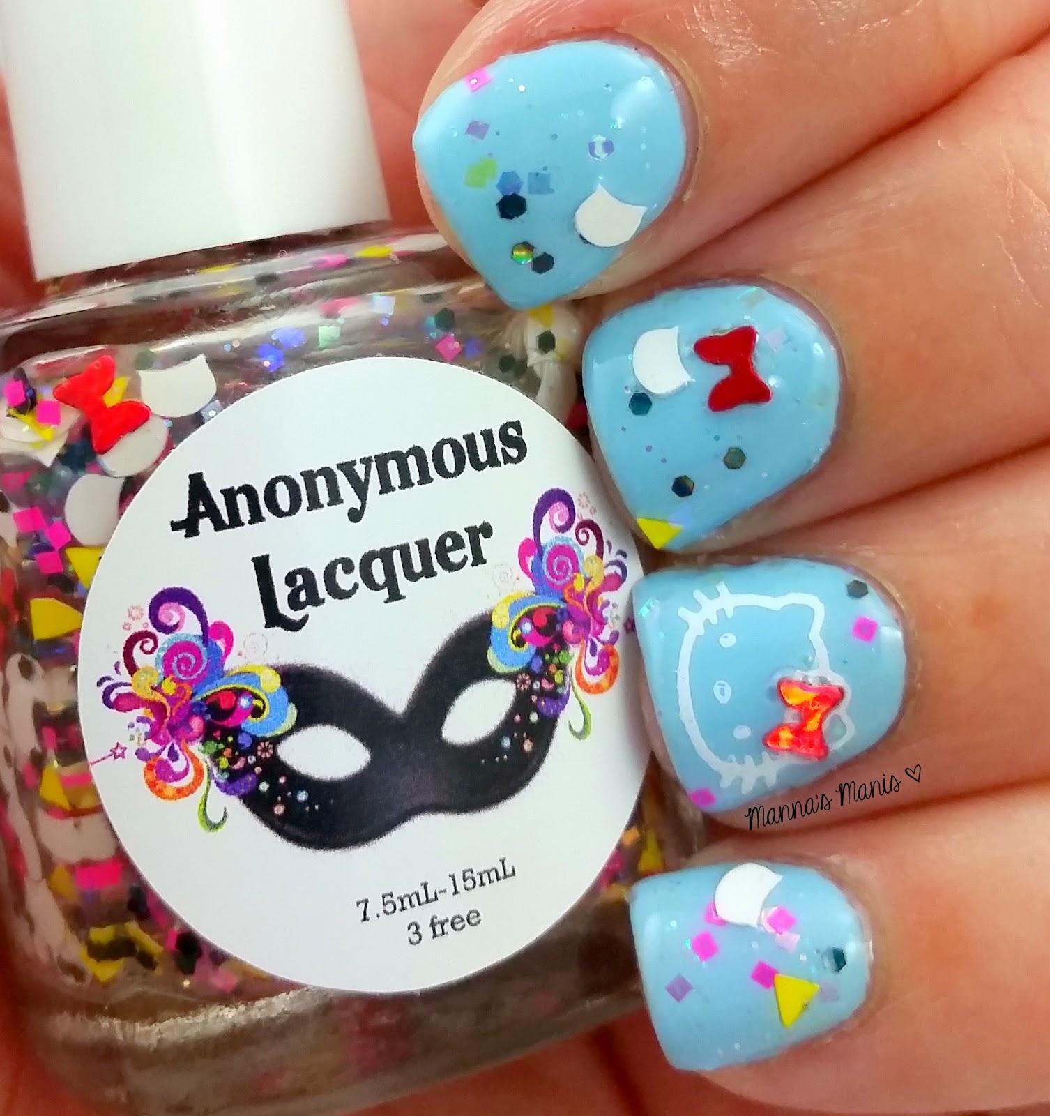 anonymous lacquer you had me at hello kitty nail polish