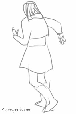 I keep running. Gesture drawing on iPhone by ArtMagenta