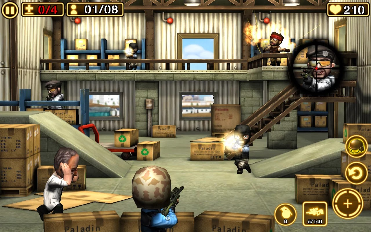 Gun Strike 2 v1.1.1 Mega Mod