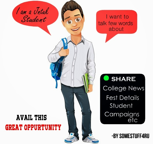 Latest Educational News Update: Jntuk College Students Can Submit College News,Fest