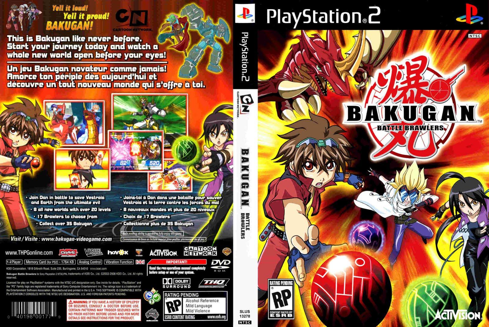 Bakugan Battle Brawlers NDS ROM (USA) Download - GameGinie
