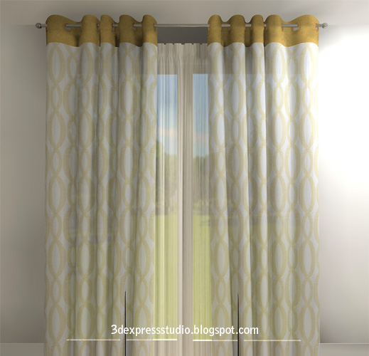Minimalist country curtain ideas