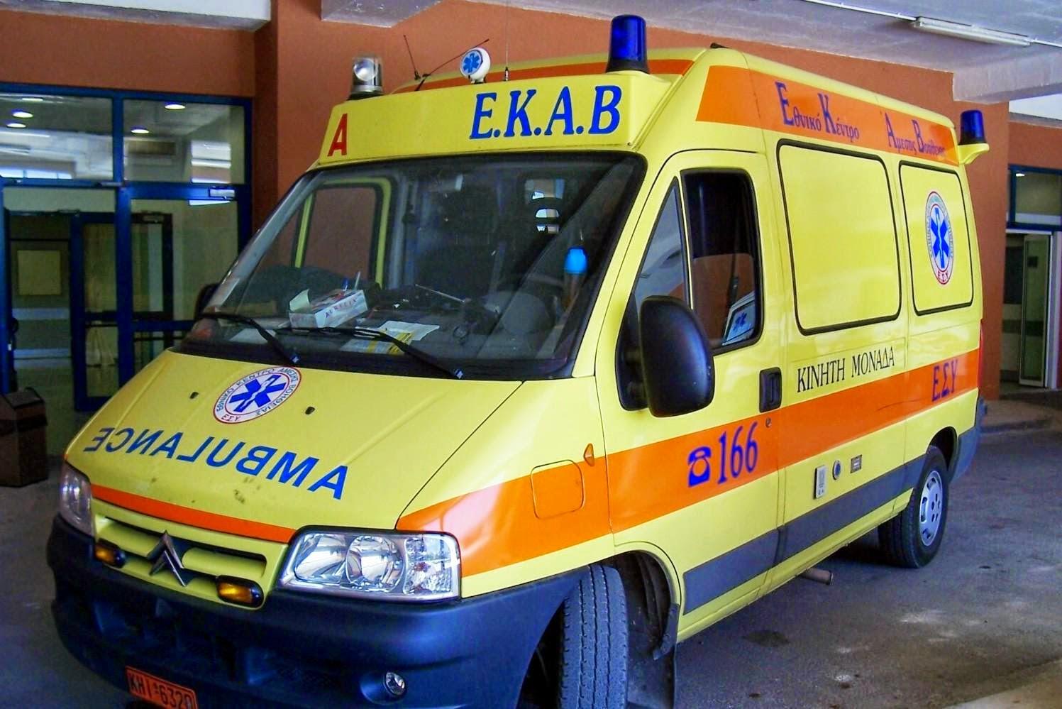 Ηράκλειο: Νέο εργατικό ατύχημα-Σε σοβαρή κατάσταση ένας άντρας