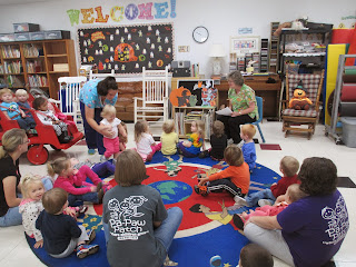 music time at The Pa-Paw Patch