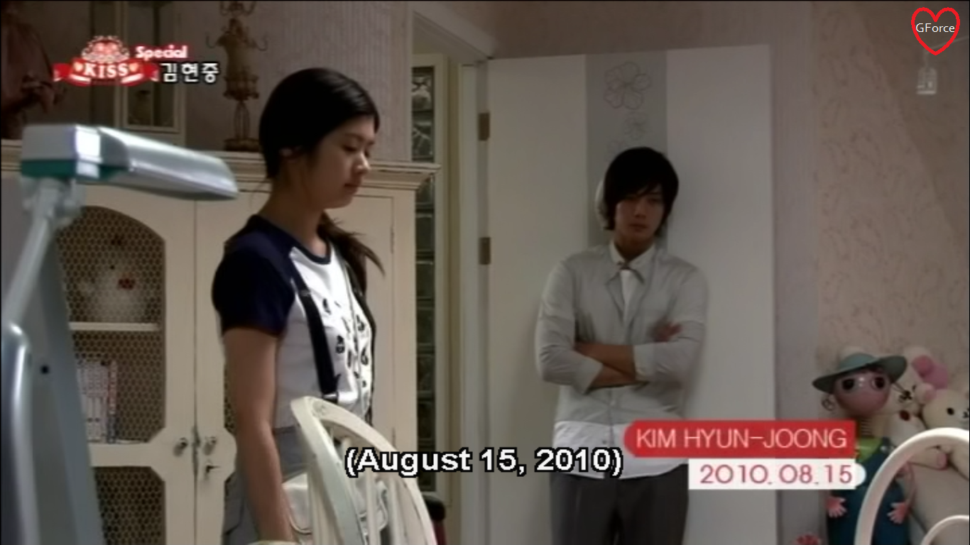 But the scene following it was on august 15 2010 i ll take a guess on when some of the bts scenes happened