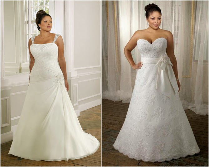 Vestidos de novia para mujeres con curvas | Más Medidas