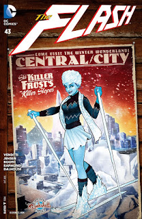 Alternate Bombshells cover to The Flash #43 featuring Killer Frost