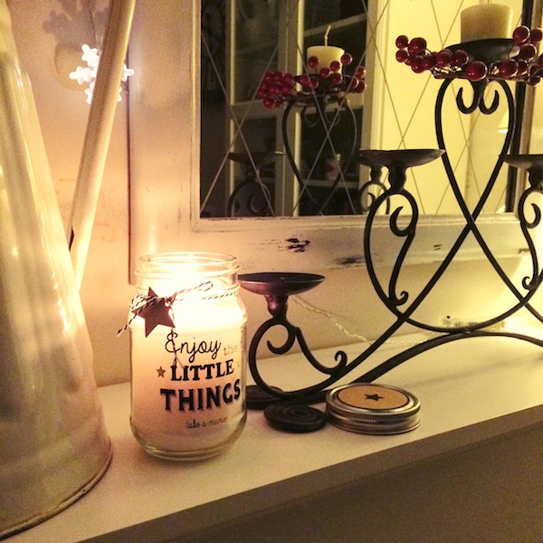 Enjoy the little things candle by Maison du Monde