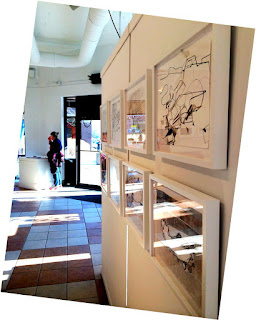 photo of exhibition at Heights Arts
