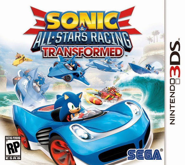 3DS Sonic All Stars Racing Transformed Cover