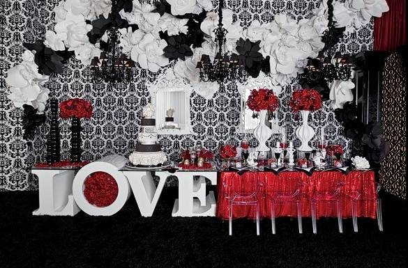 Red And Black Wedding Ideas 58 Fresh  black and white