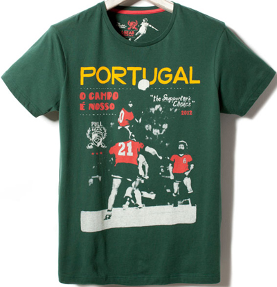camiseta Pull and Bear Portugal Eurocopa 2012