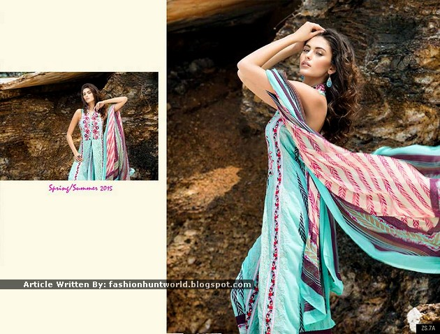 ZS Textile's Latest Lawn Dresses
