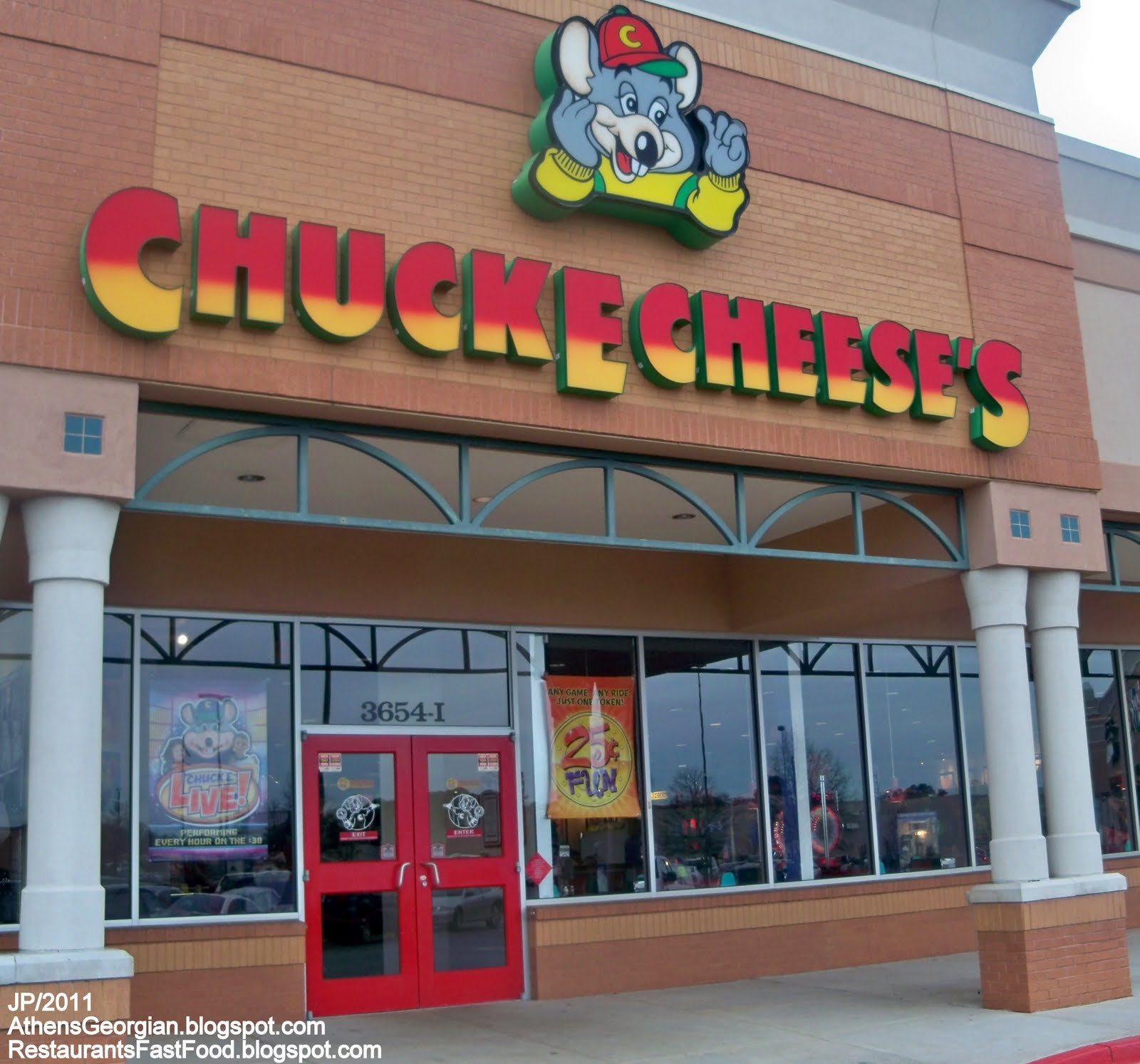 Bring families together in a wholesome environment for fun, games and kids. Chuck E. Cheese's consists of over entertainment centers in 48 states and 6 countries.