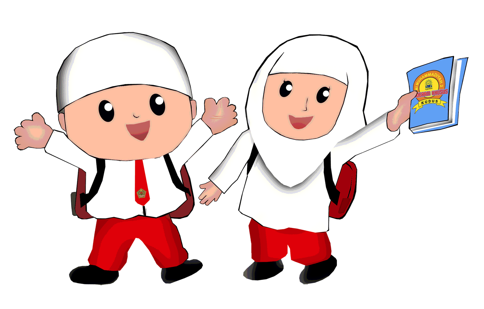 Gambar Kartun Anak Sd Muslim Komicbox