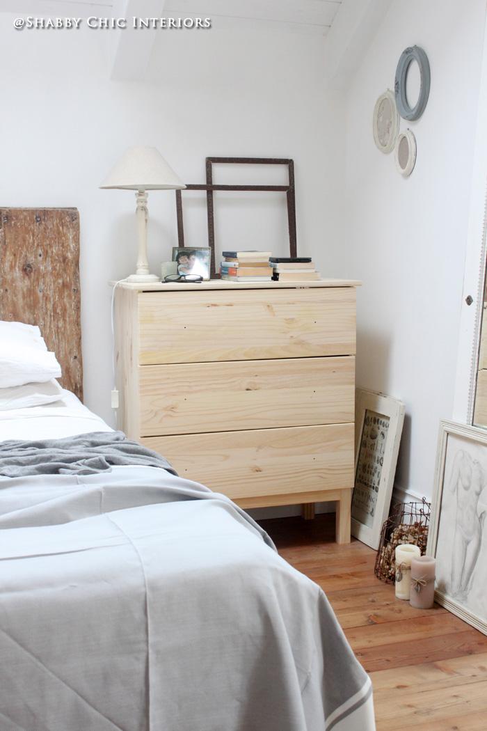 Restyling di una cassettiera ikea shabby chic interiors - Ikea planner camera letto ...