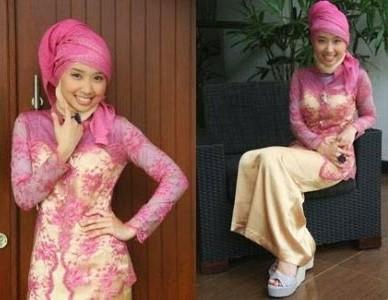 Model jilbab modern untuk kebaya wisuda terbaru dan cara memakai