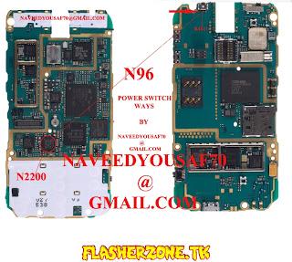 Nokia n73 power keys  jumper diagram hardware solution