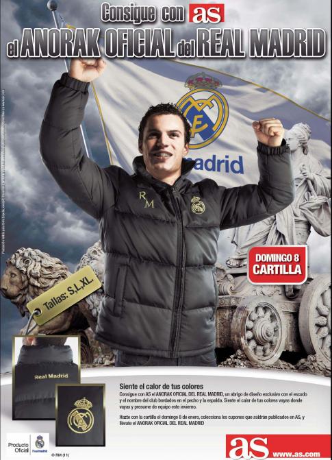 venta real madrid: