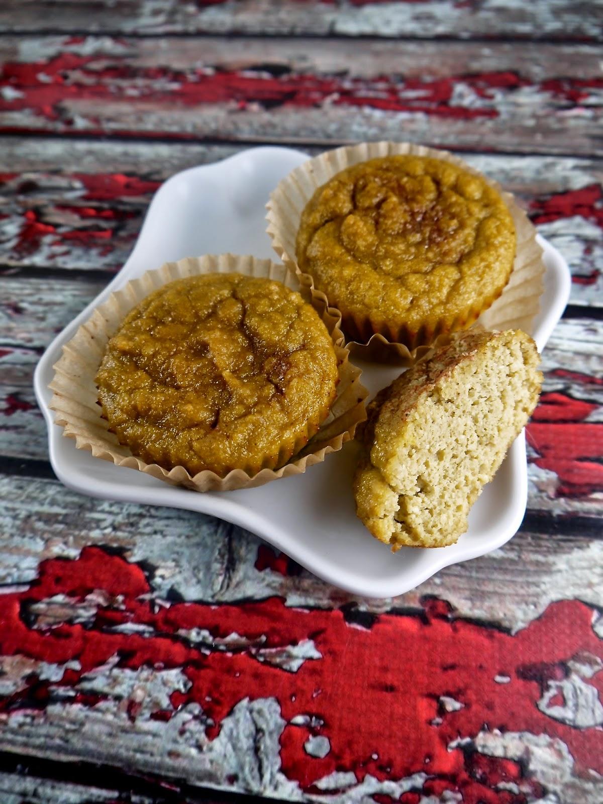 grain-free apple cider muffins