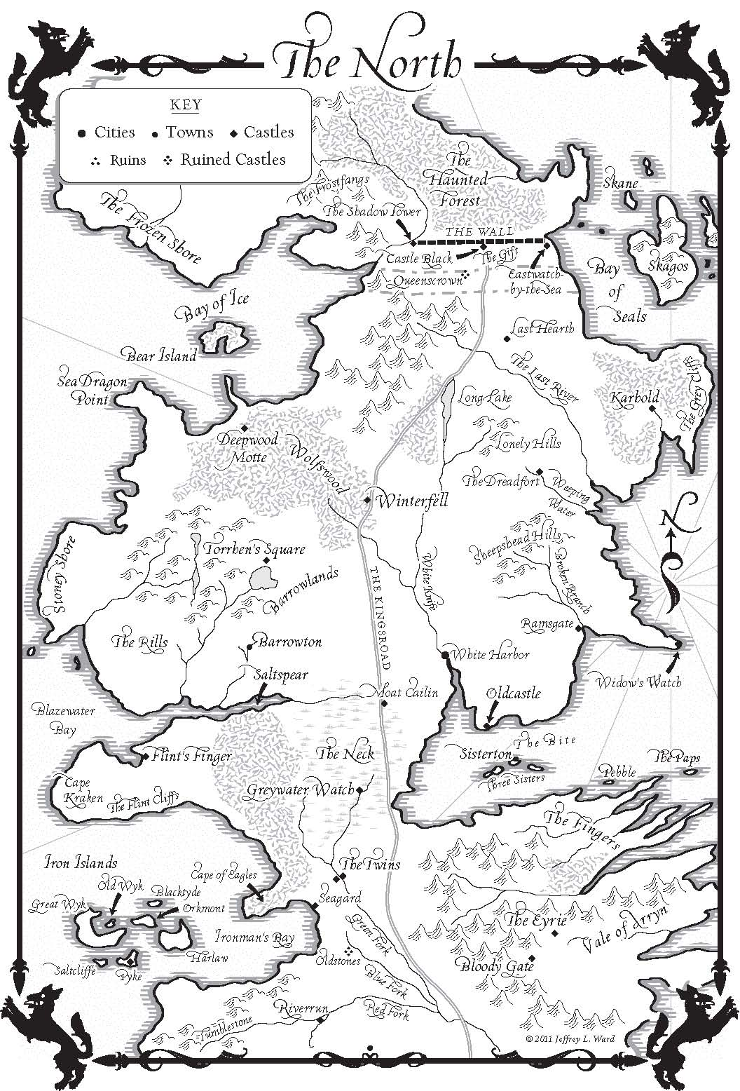 Image Result For Map Of The Game Of Thrones Kingdoms