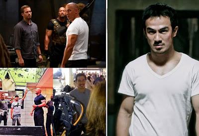 Foto Joe Taslim Saat Premiere 'Fast and Furious 6' di LA