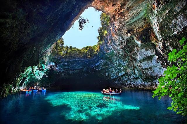 Η υπόγεια Λίμνη Μελισσάνη...Κεφαλονιά/ limni Melissanis Kefalonia