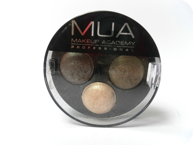 A picture of MUA Innocence Eyeshadow Trio