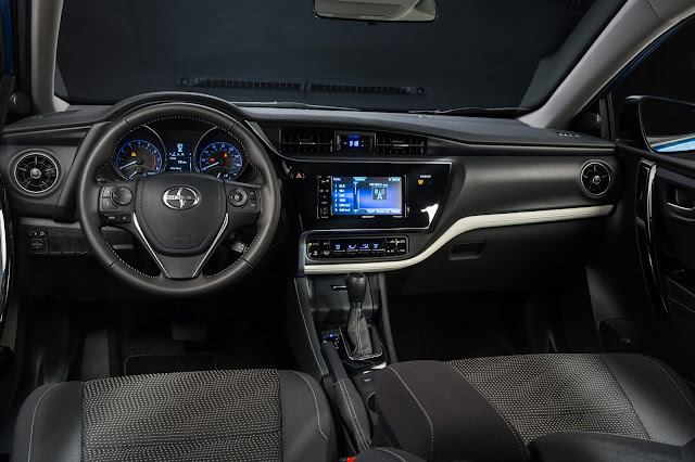 Interior view of 2016 Scion iM